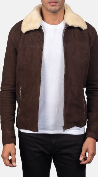 suede leather jacket mens