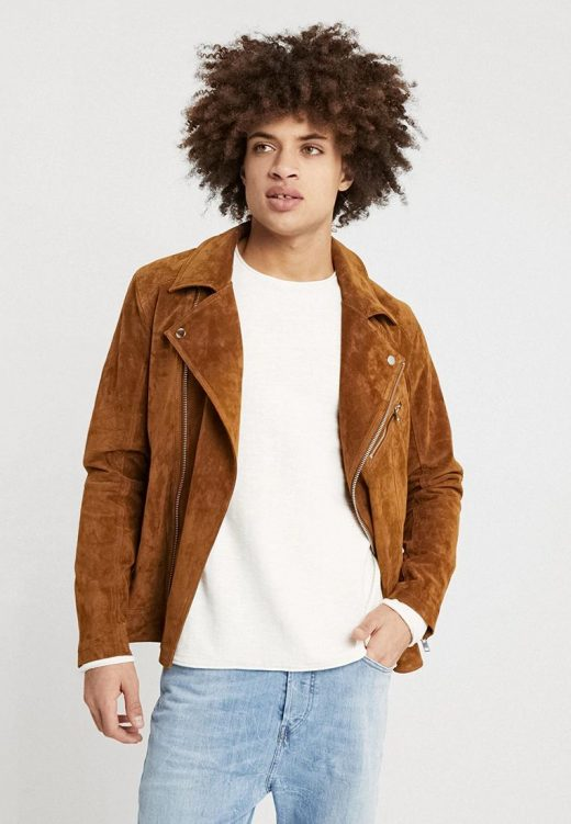 Light Brown new leather jacket