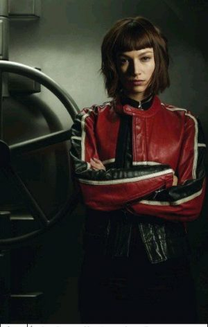 Money red and black jacket